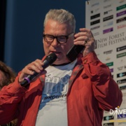 Mark Kermode Presenting Best International Short to Pins